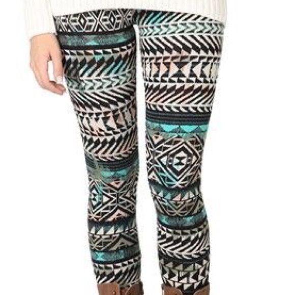 Deb Multicolor Tribal Print Leggings