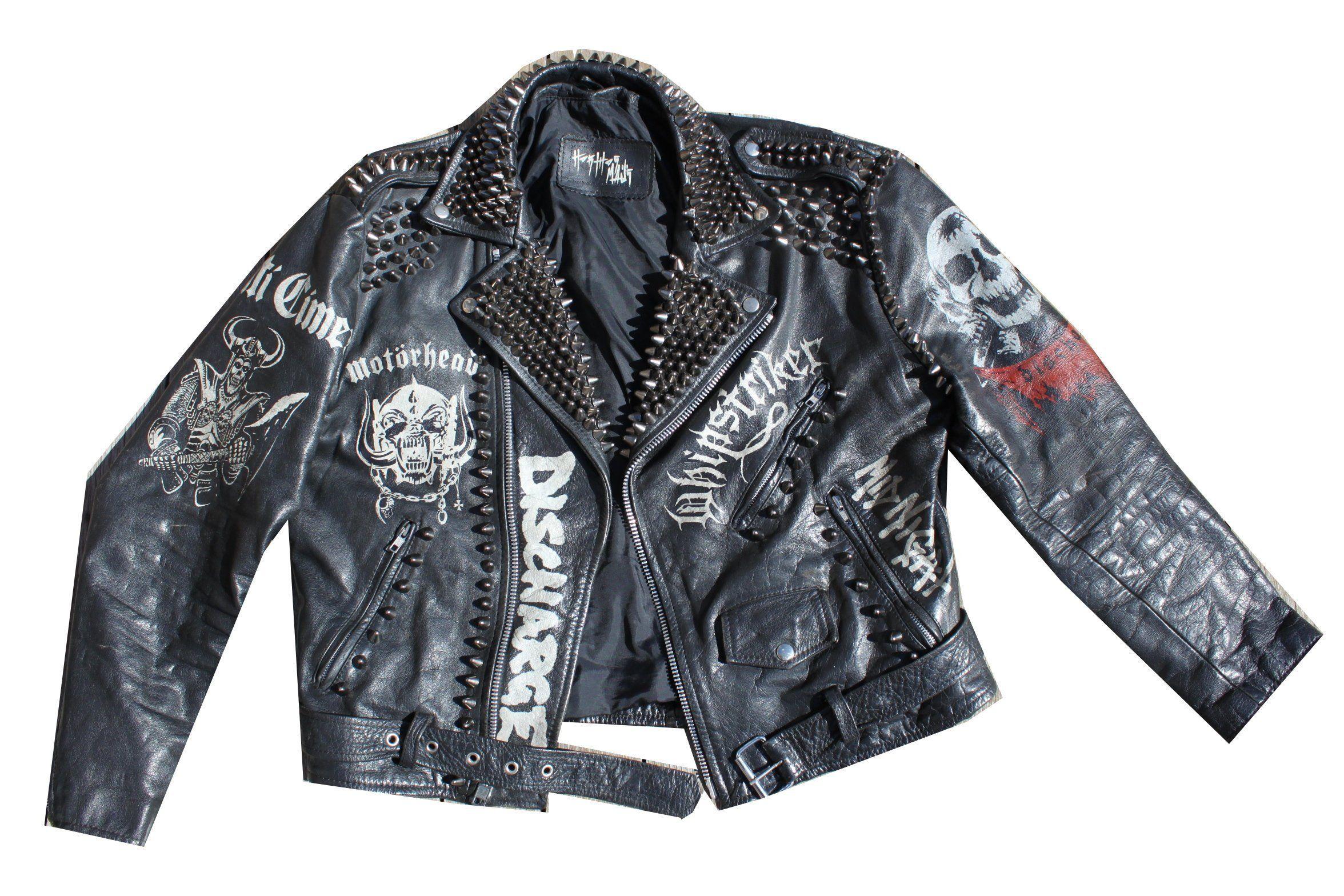 Oversized Leather Jacket Vintage