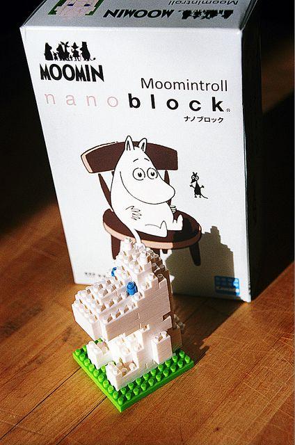 Moomin Valley Moomin House Micro Block one box