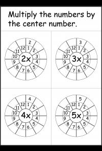 WORKSHEETFUN.com Times Table Worksheet