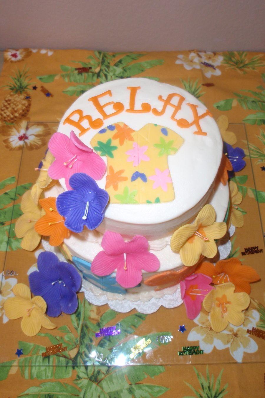 Dads retirement cake retirement cakes cake