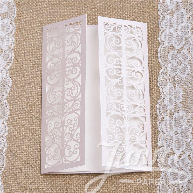 Wholesale Luxury Laser Pocket Wedding Invitations WPL0061 [WPL0061] - $1.10 : Wholesale Wedding Invitations, Wedding cards supplies online   Janice Paper