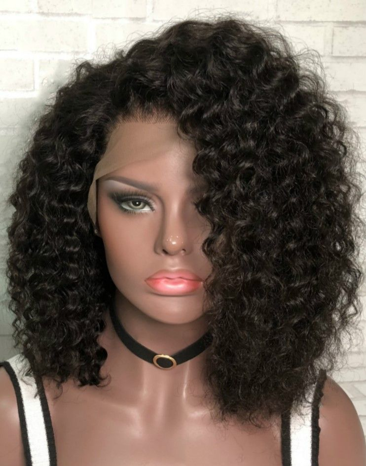 Gemini Malaysian Curly Lace Front Wig Gemini003 Curly Lace