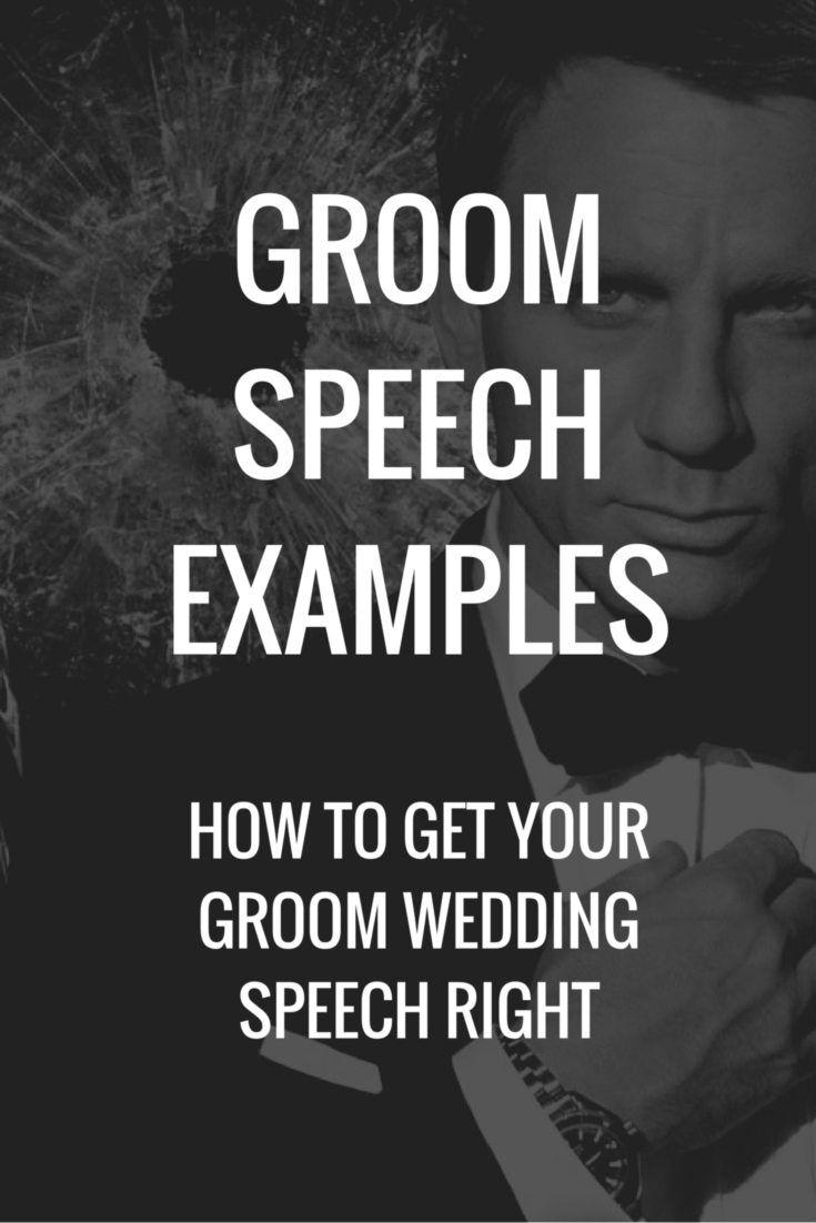Writing Your Groom Speech Tips Examples Advice Topweddingsites Com Groom S Speech Wedding Speech Groom Wedding Speech