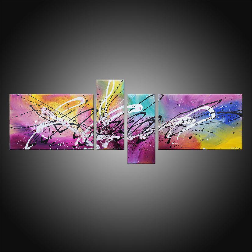 tableau contemporain color discovery tableau abstrait contemporain art peinture john. Black Bedroom Furniture Sets. Home Design Ideas