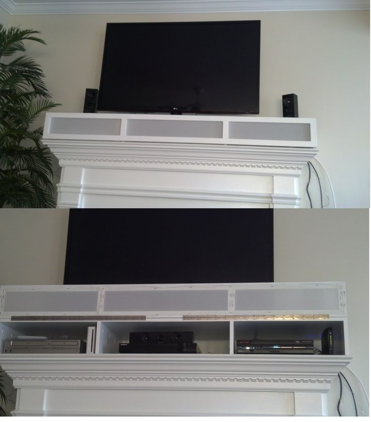 Image Result For Hinged Mantle Box Entertainment Systems