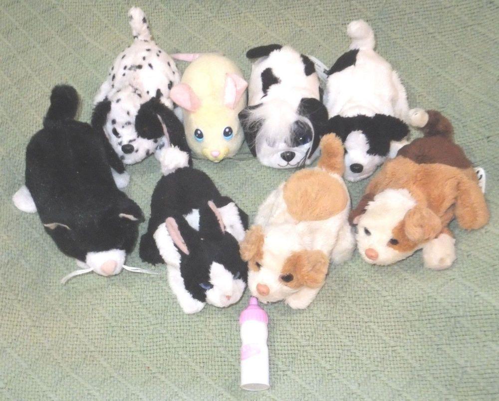 Huge Lot 14 Fur Real Newborn Friends Interactive Animal