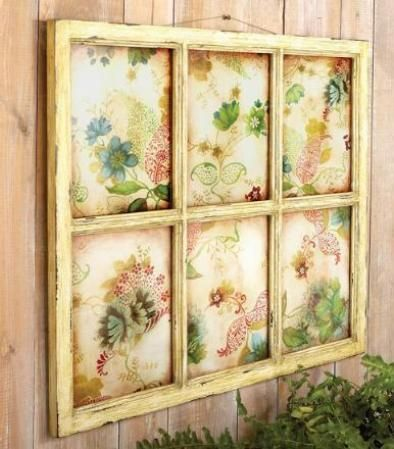 distressed decor | CBK Styles 65755 Wall Decor Distressed Faux ...