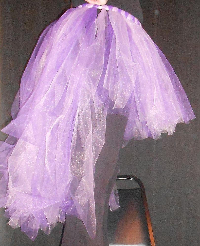 High Low Tulle Skirt   Diy tulle skirt, Diy skirt