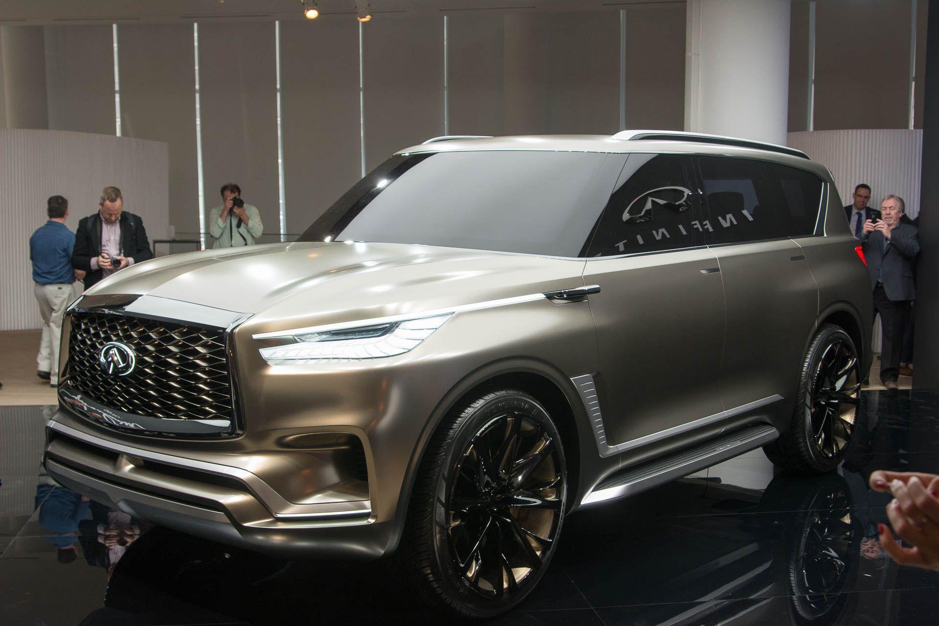2020 Infiniti Truck Interior Luxury Suv Suv New Infiniti