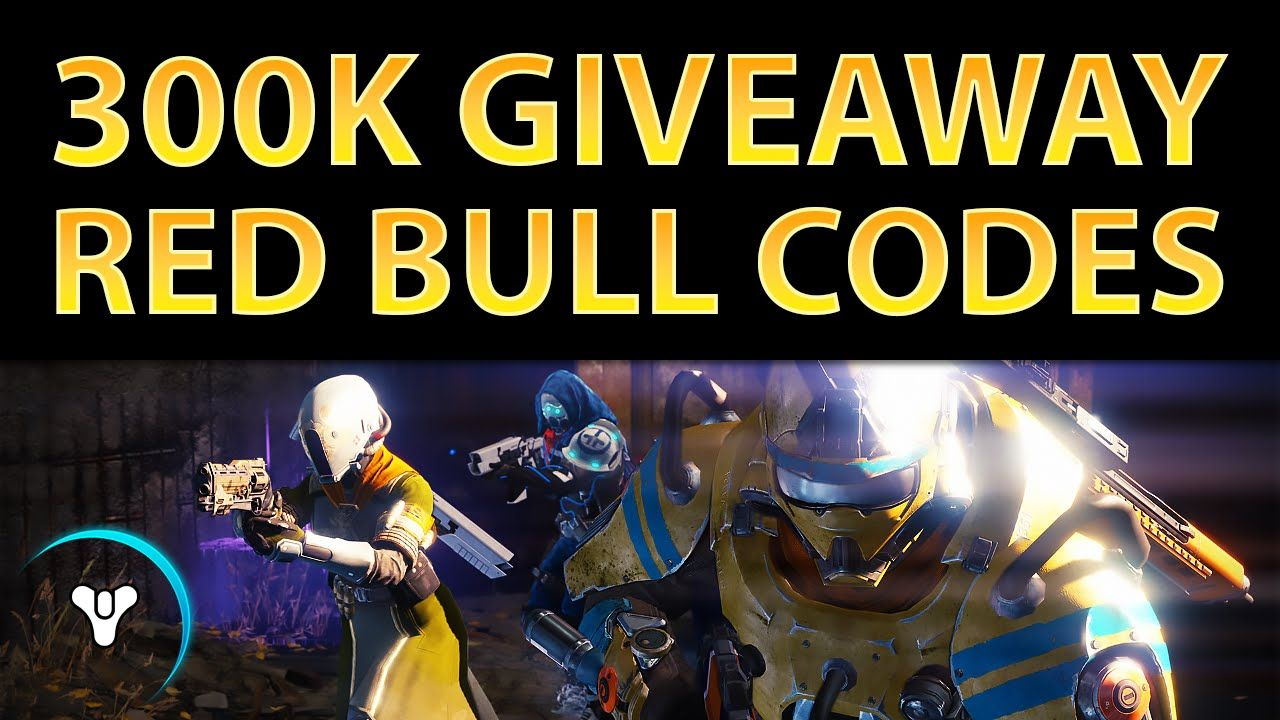 planet destiny 300 000 thank you red bull code giveaway