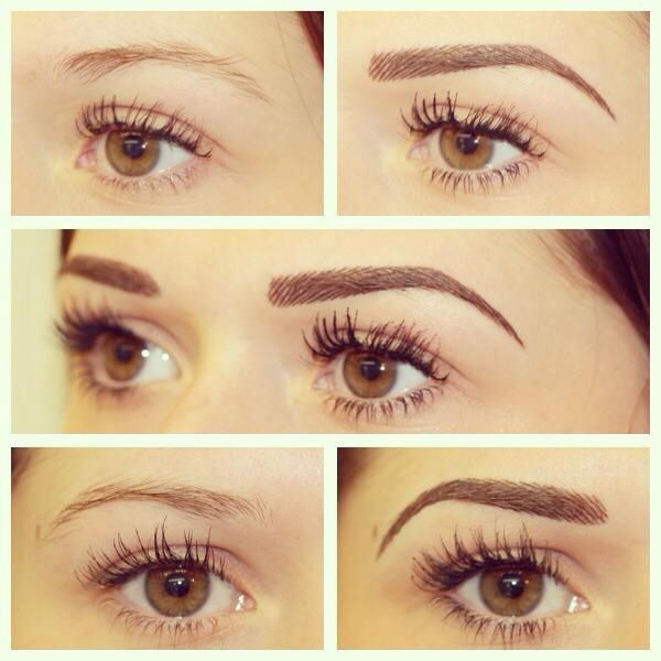 Permanent Brows by Beautissima Eyebrow And Eyelash Bar Pinterest