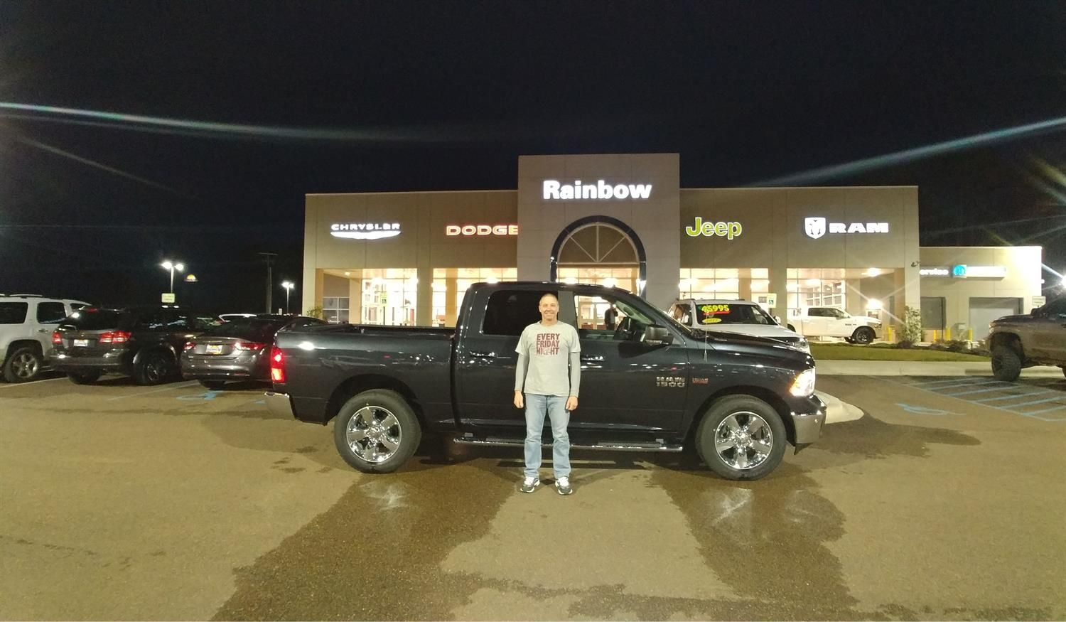 Exceptional Thank You, Lisa And David For The Opportunity To Help You With Your New  2017 RAM All The Best, Rainbow Chrysler Dodge Jeep Ram And FORREST DIDON.