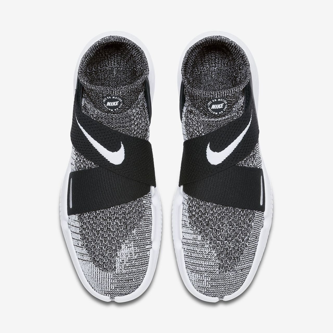 Nike   Free RN Motion Flyknit 2018   Black White   Shoes   2018 Shop ... 318e8733625