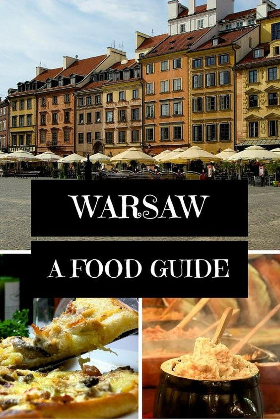 The Best Places To Eat And Drink In Poland S Capital City