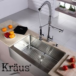 KRAUS Stainless Steel Bottom Grid With Protective Anti Scratch Bumpers By  Kraus