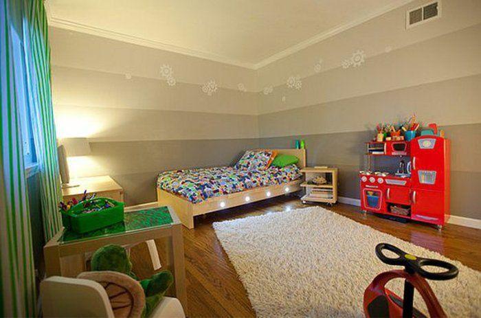Jungenzimmer Gestalten Einrichtungsideen Im Zimmer Des Jungen Bett Mit  Besonderer Beleuchtung