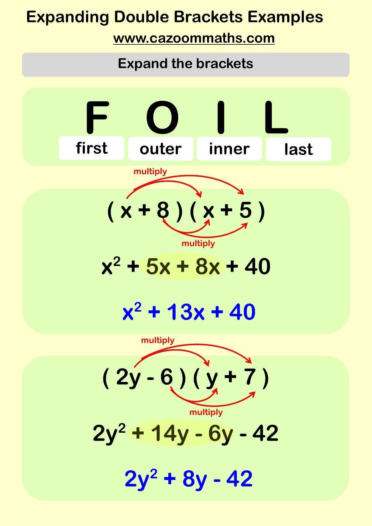 Single Brackets Teaching Resource Learnmathonline Math Methods Learning Mathematics Studying Math