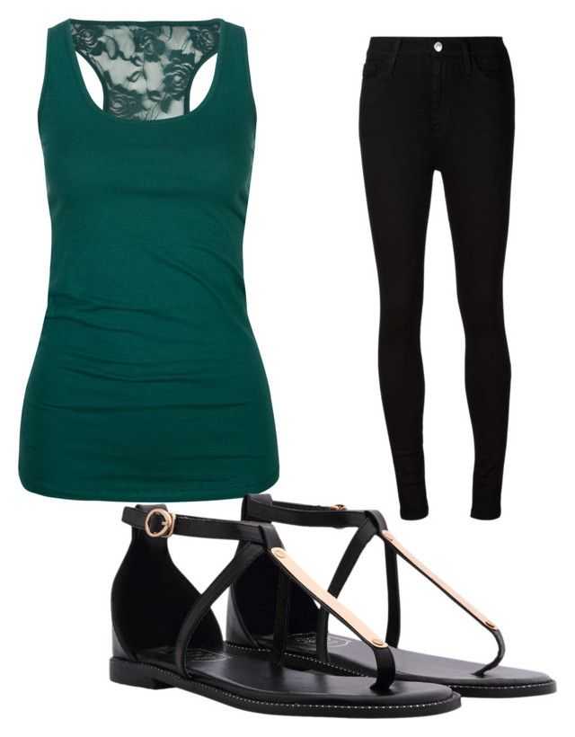 """""""Untitled #427"""" by ania18018970 on Polyvore featuring Bozzolo and AG Adriano Goldschmied"""