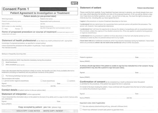 Acknowledgement Of Service Form Sample Employee Details Form