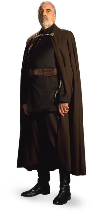 Starwars Com Count Dooku Star Wars Collection Star Wars Costumes Dark Side Star Wars