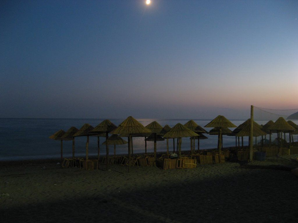 crna gora mapa sutomore Sutomore, pogled na plažu i pučinu uveče | Crna Gora & Srbia  crna gora mapa sutomore