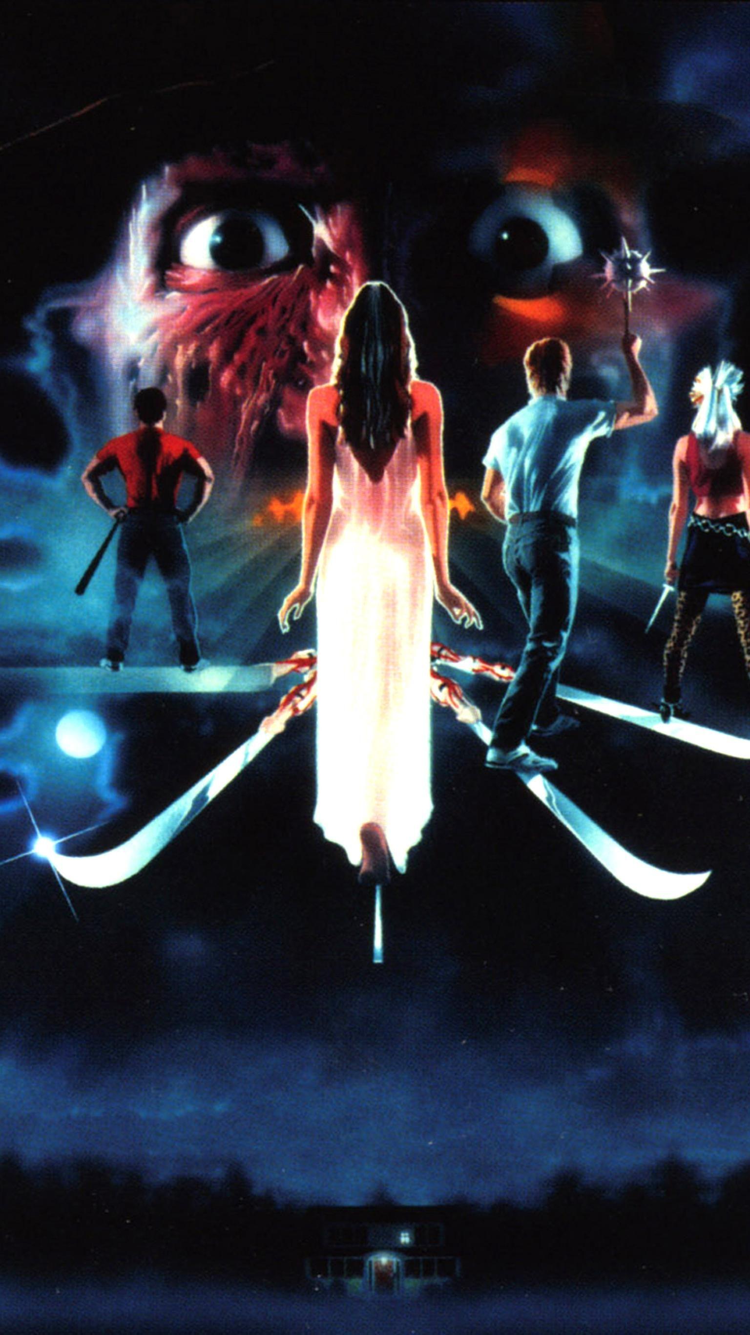 A Nightmare On Elm Street 3 Dream Warriors 1987 Phone Wallpaper