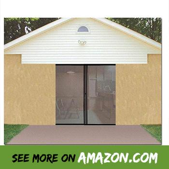 Review The Best Retractable Garage Door Screen 2018 Garage Screen Door Single Garage Door Garage Door Design