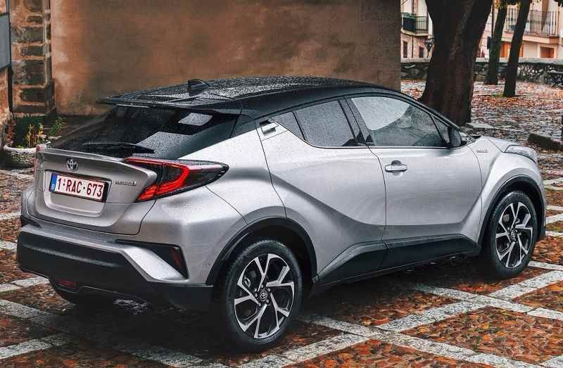 2017 toyota chr india rear profile cars pinterest toyota cars and jeep compass. Black Bedroom Furniture Sets. Home Design Ideas