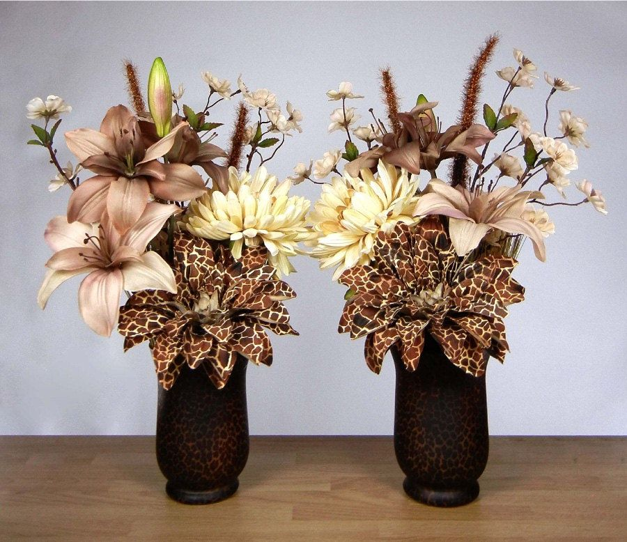 Animal Print Flowers Google Search Floral Centerpieces