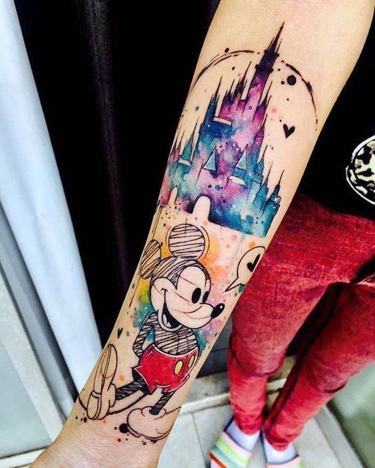 Disney Tattoos On Pinterest