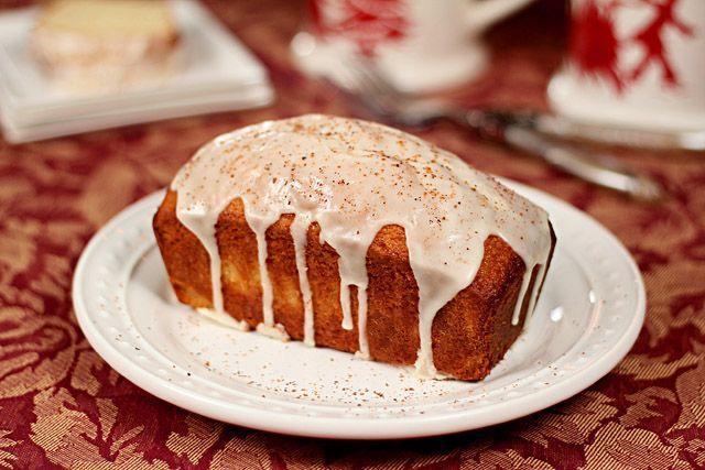 Eggnog and Bourbon Bread
