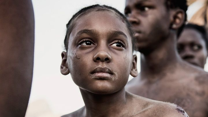 Shailyn Pierre-Dixon, who played young Aminata in the TV series The Book of Negroes