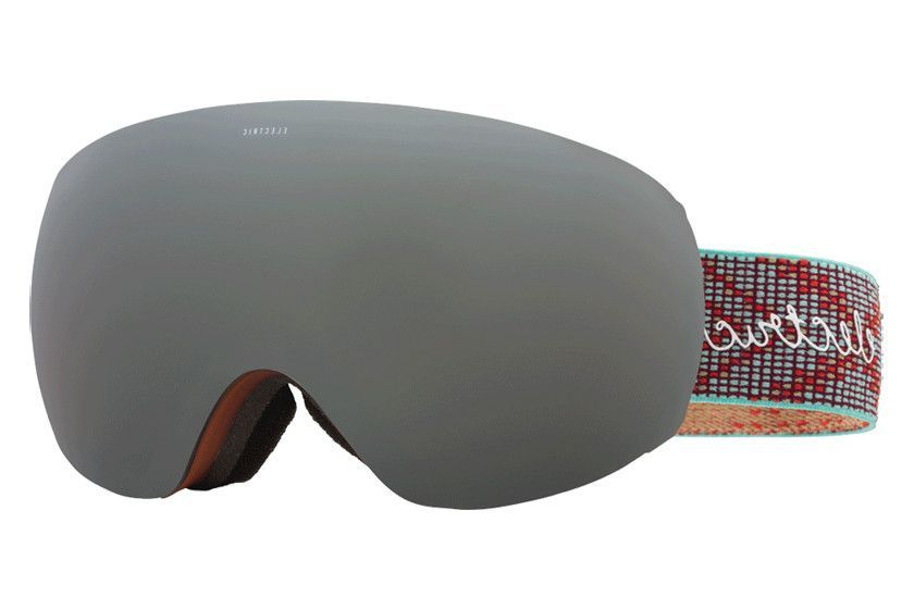Electric - EG3.5 Green Weave Goggles, Brose/Silver Chrome Lenses
