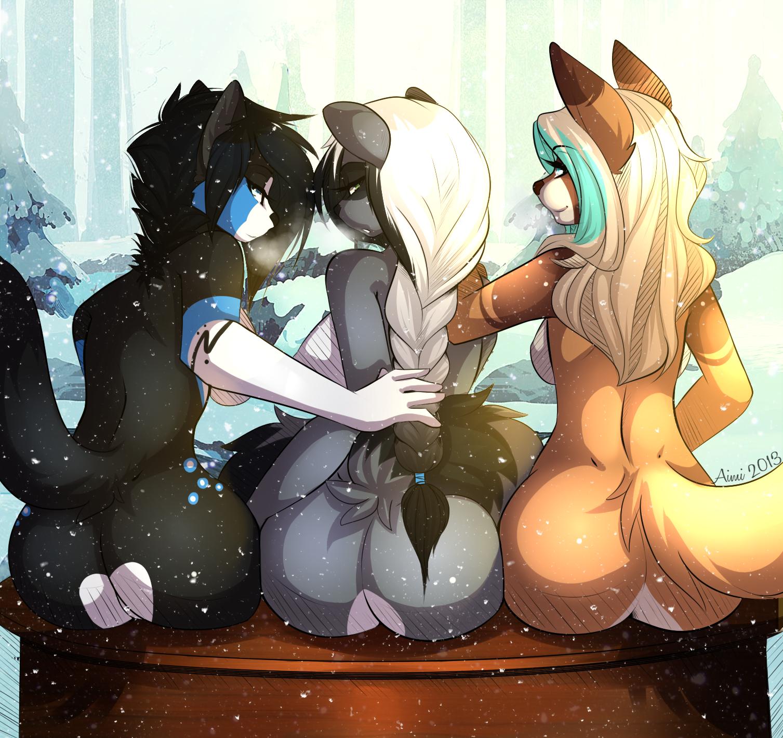 Furry erotic art