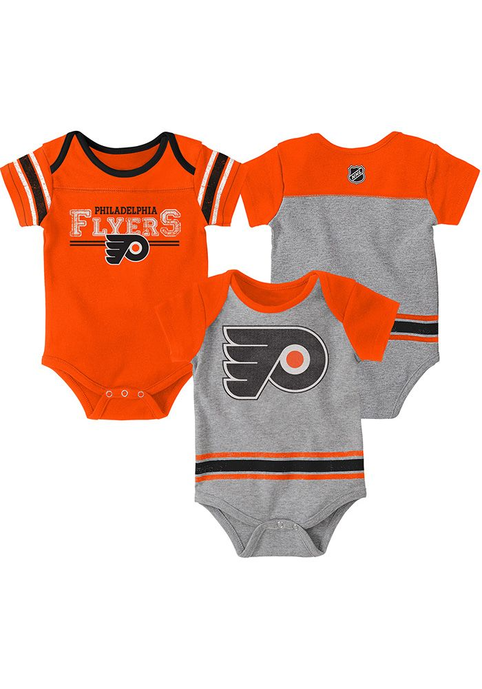 finest selection 95c20 580c9 Philadelphia Flyers Baby Orange Definitive One Piece in 2019 ...