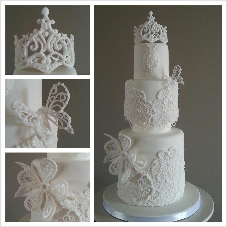 Bridelcake gelaagde taart bruidstaart bruid