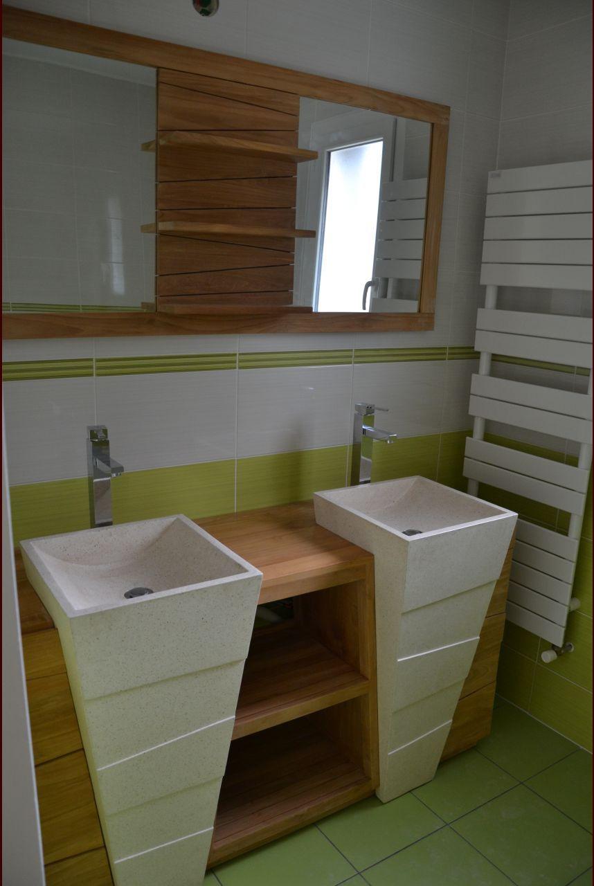Salle De Bain 4.5 M2 photo n°1241128 - décoration - salle de bain - salle d'eau