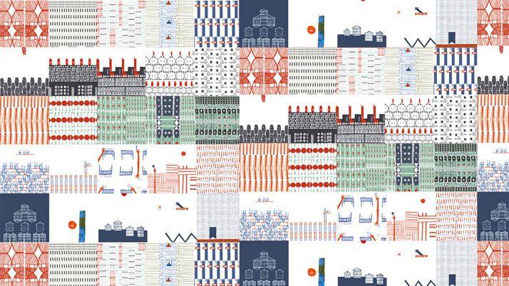 Renee Rossouw drawings for ceramic designs