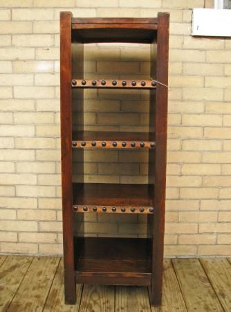 Early Gustav Stickley plate rack/ Magazine Stand : stickley plate rack - Pezcame.Com