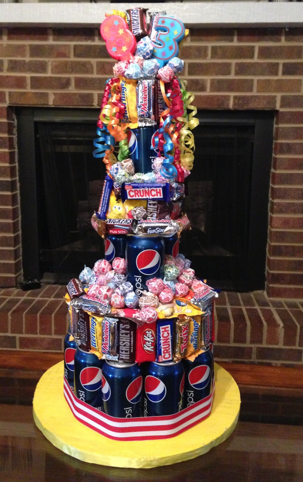 Candy soda cake geburtstag pinterest geburtstag geschenke und teenager geburtstag - Geburtstagsideen zum 90 ...