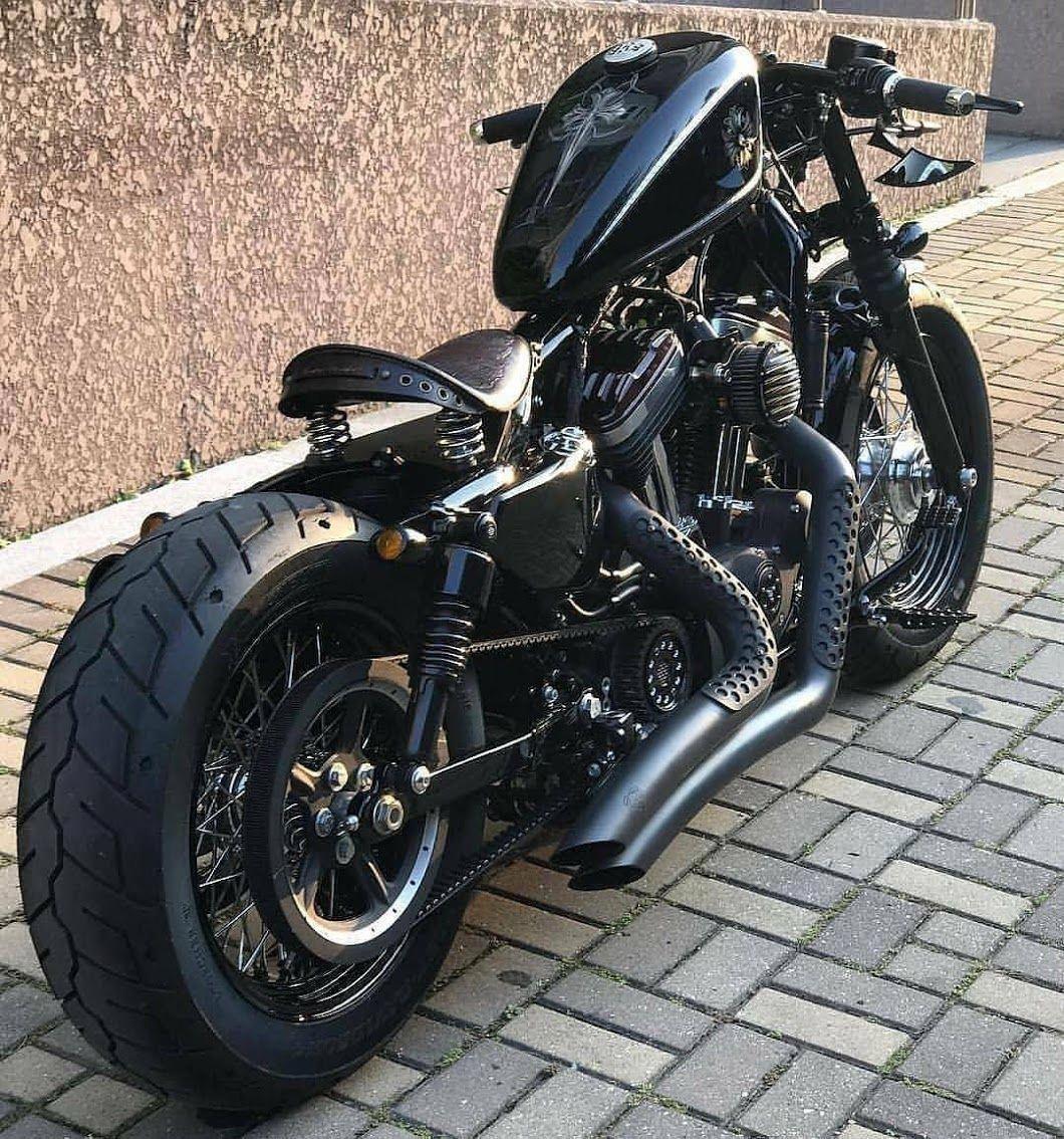 Yamaha XV1100 Virago inspired motorbike art shirt tshirt