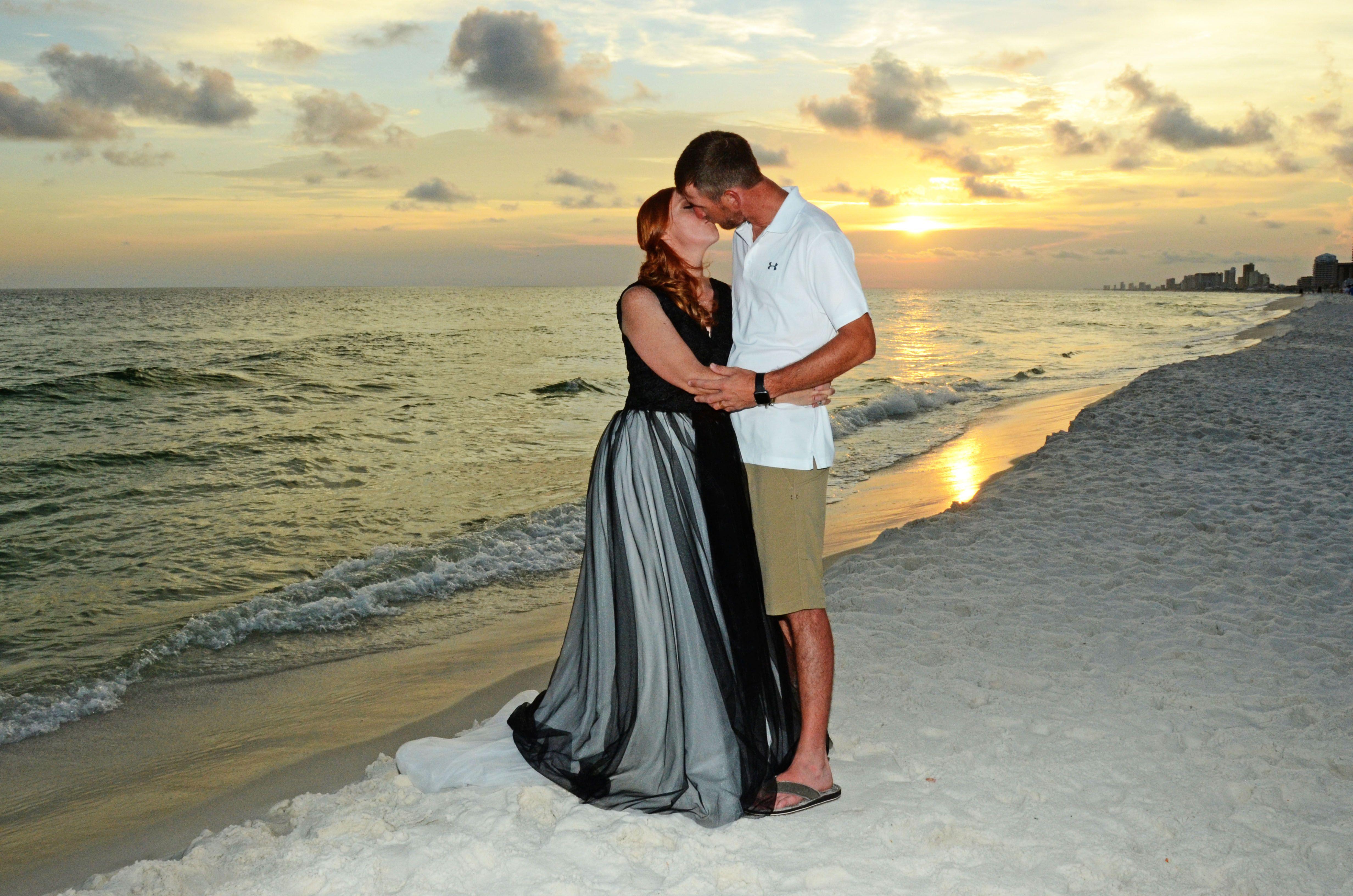 Panama City Beach, Florida destination beach wedding (With