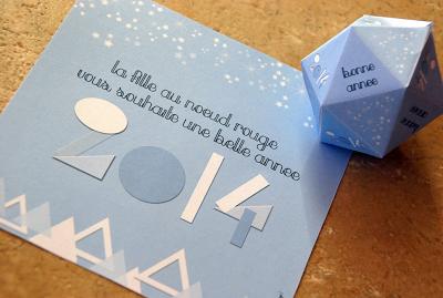 forme géométrique pour annoncer la bonne année 2014 personnalisation des formes géométriques pour votre mariage www.lafilleaunoeudrouge.fr création faire-part et papeterie sur mesure