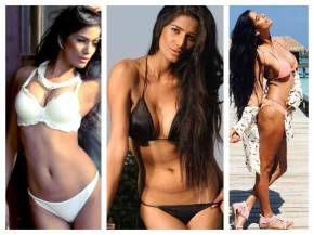 poonam pandey hot bikini photoshoot stills