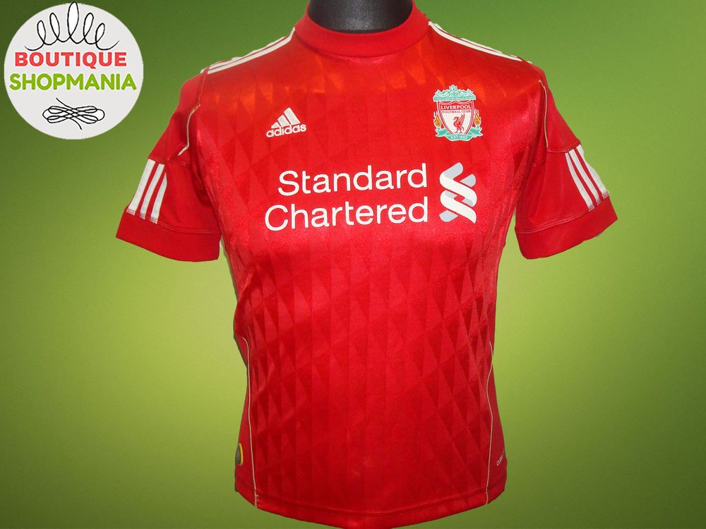 2010 12 Liverpool Home Shorts (Very Good) M