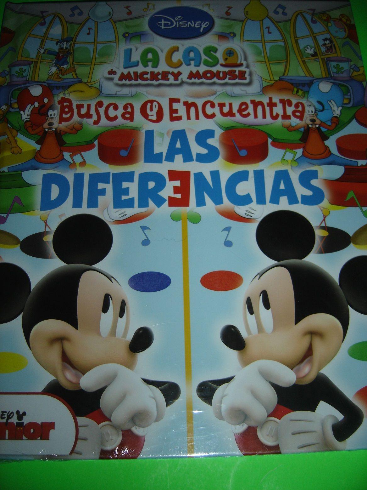 LOOK AND FIND Busque y Encuentre Casa de Mickey Mouse SPANISH DISNEY BOOK #Kids #Book