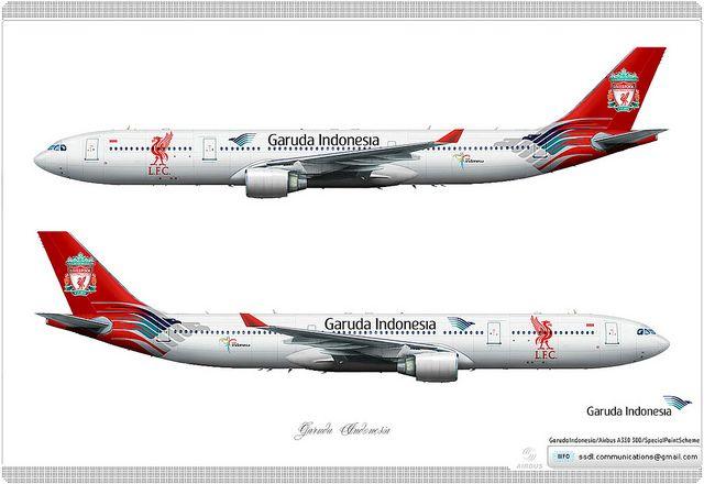 Garuda Indonesia Livery Concept Aviation Indonesia Airbus