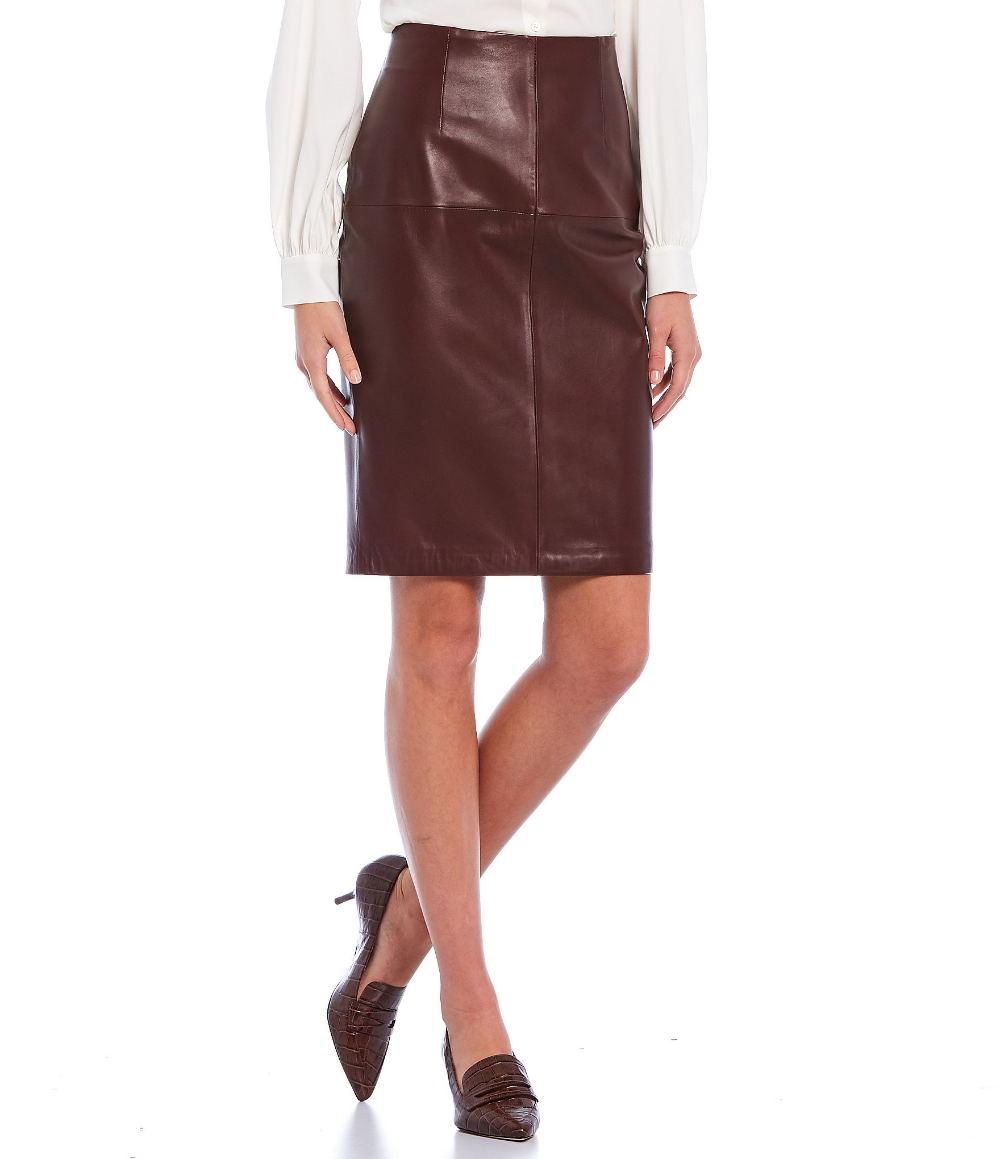 Shop for Antonio Melani Luxury Collection Genuine Leather Caroline Pencil Skirt at Dillard's. Visit Dillard's to find clothing, accessories, shoes, cosmetics & more. The Style of Your Life.