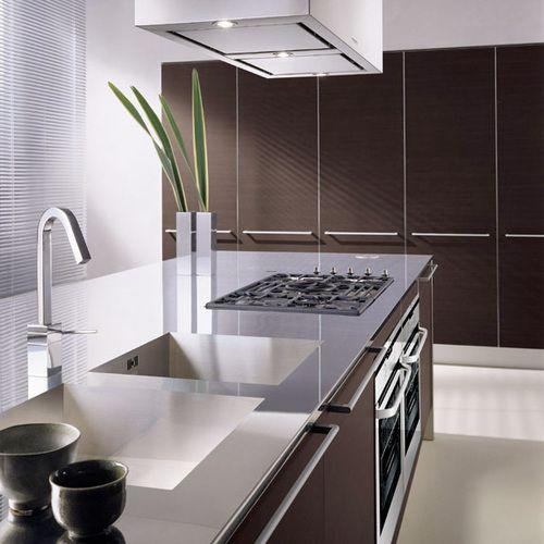 Kitchen Cabinets With Dark Oak Laminate Doors